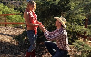 engagement at Los Angeles Horseback Riding